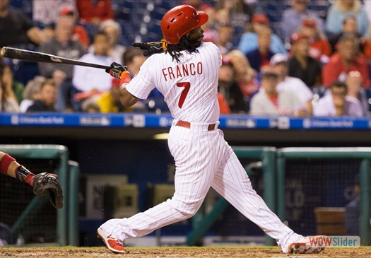 Maikel Franko anchors a Phillies infield that has questions for 2017.